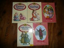 Lot of 5 LITTLE HOUSE CHAPTER BOOKS Wilder FRIENDS Christmas Stories LAURA JACK