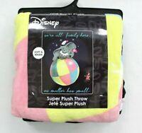Disney Dumbo Family Super Plush Throw Blanket