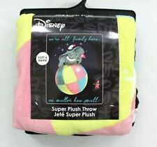 Disney Dumbo Family Super Plush Throw Blanket