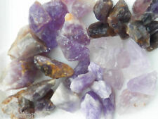 1/2 LB AMETHYST Bulk Rough Rock Stones 1100+ ct Brazil India Mozambique