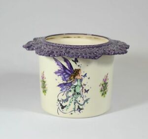 African Violet Pot Tall Lace choose a design
