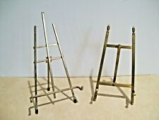 Brass Metal Decorative Plate Picture Photo Easel Stand