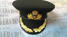 ROYAL MARINE SHIP HATS,  TITANIC CAPTAIN SMITH HAT In All Sizes