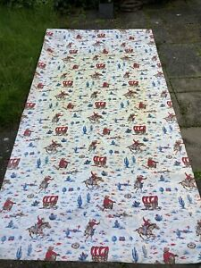 CATH KIDSTON EXTRA LARGE OIL CLOTH PVC FABRIC IDEAL FOR A TABLE CLOTH.