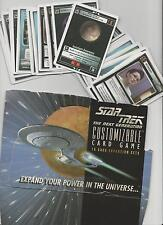 Star Trek Customizable Card Game CCG unlimited Premiere Edition AUSWAHL SELECTne