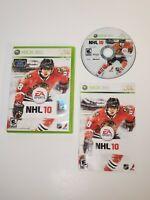 NHL 10 EA Sports (Microsoft Xbox 360, 2009)