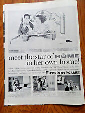 1957 NBC TV Ad Meet the Star of Home in Her Own Home Ad Arlene Francis