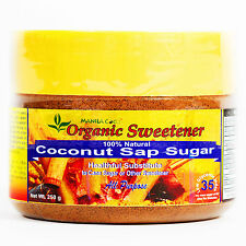 Organic COCONUT SAP SUGAR Manila Coco Virgin REAL COCONUT: NOT IMITATION 250 gm