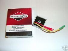 Genuino Briggs y Stratton 12 691188 regulador de voltaje