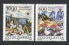 Yugoslavia 1988 Flowers/Plants/Nature Protection/Environment/Mountains 2v n34027