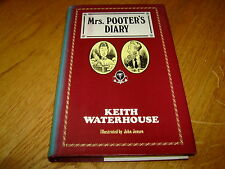 KEITH WATERHOUSE-MRS POOTER'S DIARY-1ST-1983-VG-HB-SCARCE