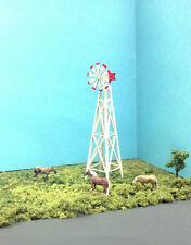 N Scale Custom Laser Cut Windmill Kit