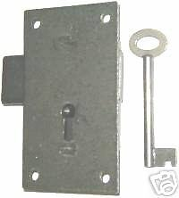 REPAIR PARTS FLUSH MOUNT LOCK & KEY M1866