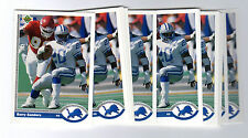 1x BARRY SANDERS 1991 Upper Deck NFL #500 PROMO SAMPLE PROTOTYPE  Lots Available