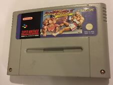 PAL SUPER NINTENDO ENTERTAINMENT SYSTEM SNES CARTRIDGE STREET FIGHTER II 2 TURBO