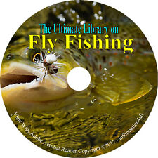 Fly Fishing, Ultimate Library on CD – 55 books, How to Angling Angler Fish