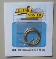 BRAIDED LINE #4 1:24 1:25 DETAIL MASTER CAR MODEL ACCESSORY 1304