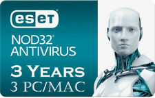 2019 ESET NOD32 Antivirus - 3 Computers 3 years - Instant Delivery via Email