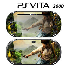Vinyl Decal Skin Sticker for Sony PS Vita Slim 2000 Uncharted Golden Abyss