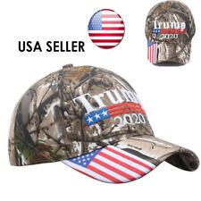 Trump 2020 MAGA Camo Embroidered Hat Keep Make America Great Again Cap USA j-c