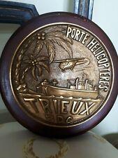 Grande tape de Bouche Bâtiment de Débarquement de Chars (BDC) Trieux Médaille