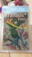 FANTASTIC FOUR #83.CBCS 7.5. CLASSIC SILVER AGE COVER. NOT CGC VERY CONSERVATIVE