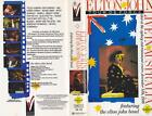 ELTON JOHN AND THE ELTON JOHN BAND VHS PAL VIDEO~A RARE FIND