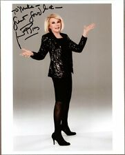 "Joan Rivers,TV Personality, Signed 8"" x 10"" Color Photo, COA, UACC RD 036"