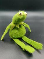 Vintage KERMIT THE FROG Beanbag THE MUPPETS FISHER-PRICE #864 Plush Sad Kermit