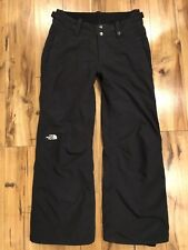 The North Face Hyvent Black Mesh Lined Waterproof Ski Snow Pants Women's Small