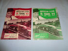 2 Different American Flyer HO and S Gauge 1961-1962 Catalogs
