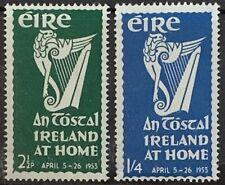 IRELAND 1952 'AN TOSTAL' SET. FRESH MOUNTED MINT  SG154/5 CAT £22
