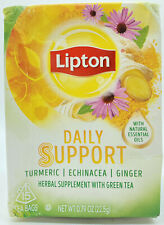 Lipton Daily Support Tea Turmeric Echinacea Ginger 15 Teabags