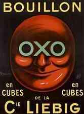 Metal Sign Oxo Cubes Bouillon A5 8x6 Aluminium