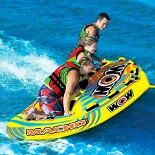 New listing Wow Macho 3 Persons tube inflatable towable lounge water-ski 16-1030 Wow Sports
