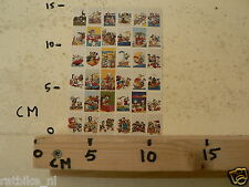 STICKER,DECAL SHEET DONALD DUCK,MICKEY MOUSE AND MORE