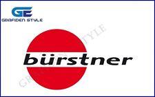 1 Stück  BÜRSTNER - CARAVAN - Wohnwagen Aufkleber - Sticker - Decal !