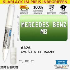 6376 AMG GREEN HELL MAGNO Lackstift für MERCEDES BENZ MB 376 Grün GT Kratzer S