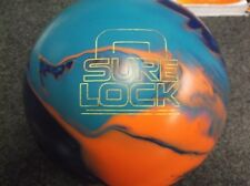 Storm Sure Lock USED 15lb Bowling Ball Navy/Electric/Orange