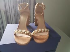 Stuart Weitzman MorePearl Shoes - Rose Suede - Size 3/36 - Nearly New With Box