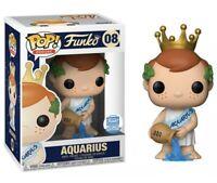 POP! Zodiac Aquarius #08 Freddy Funko Shop Exclusive Limited Edition