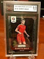 2016 Panini Prizm Euro Soccer Gareth Bale #118 Wales KSA 9.5 NGM