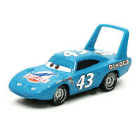 Mattel Disney Pixar Cars The King Dinoco No.43 Metal 1:55 Diecast Toy Loose New