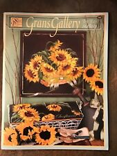 NEW Grans Gallery #595 Pattern Book by Ros Stallcup Still Life & Floral Scheewe