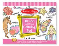 Melissa and Doug 14225 - Jumbo Colouring Pad - Pink - NEW!!