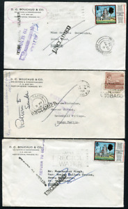 TRINIDAD (24957): Out of Postal Delivery/Unclaimed cancels/covers