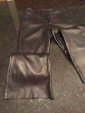 Guess Leather Pants - Size 0 - Black - Low Rise
