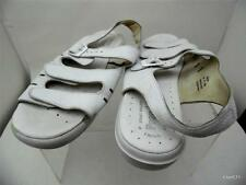 PROPET AIR CELL CUSHION WHITE COMFORT LEATHER SANDALS WOMENS 10 M MGK GUC