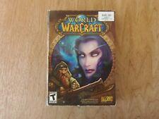 World of Warcraft (Windows/Mac, 2004) PC Game 4 Discs CIB