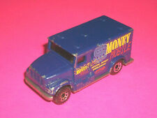 ⭐⭐ MATCHBOX BLUE INTERNATIONAL ARMORED CAR MONEY MOBILE - MADE IN CHINA
